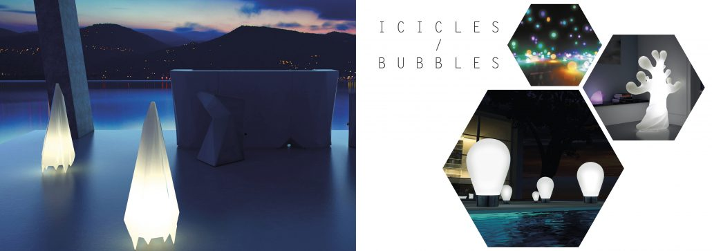 Icicles / Bubbles
